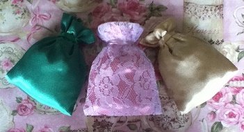 Blessed Magical Gris Gris Bags - Magic Spell Bags - Prayer Bags - For Love Money Prosperity Abundance Good Luck - Made With Kindness And Love