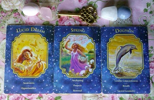 Angel Dreams Oracle Card Reading