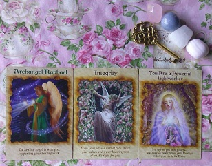 Angel Therapy Oracle Card Reading