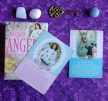 Sweet Gentle Empathic Tarot Card Reading Using The Guardian Angel Tarot Cards