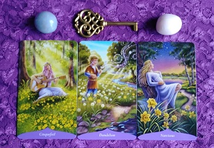 Magic Of Flowers Oracle Card Reading