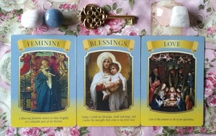 Mary Queen Of Angels Oracle Card Reading
