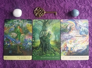 Nature's Whispers Yearly Oracle Card Reading