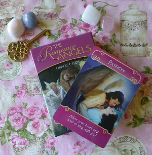 romance angel card reading