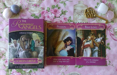 Romantic Angel Card Reading For Love - Empathic Angel Psychic - Romance Angels Oracle Cards