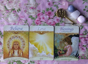 Saints & Angels Oracle Card Reading